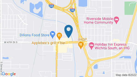 Best Western Governors Inn & Suites Map