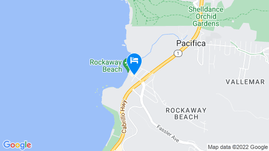 Pacifica Lighthouse Hotel Trademark Collection by Wyndham Map