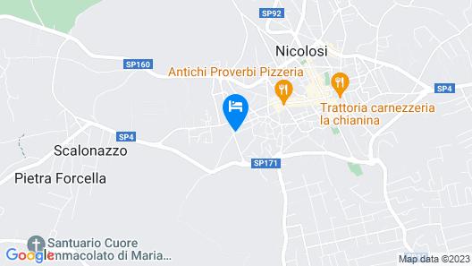 La Porta dell'Etna Map
