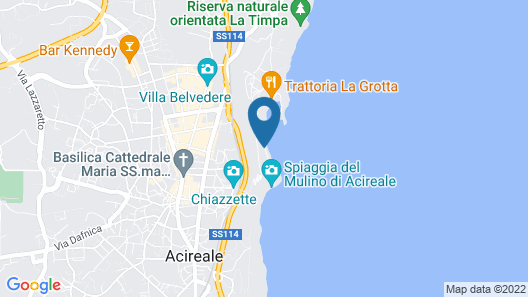 Casa sulle Onde Map
