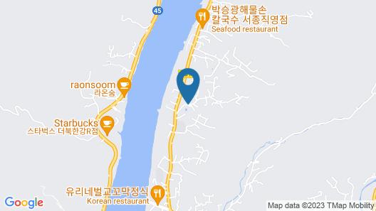 Yangpyeong Maple 679 Pension Map