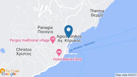 Peskesi Ikaria Map