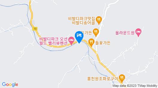 Yangpyeong La Terrasse Pension Map