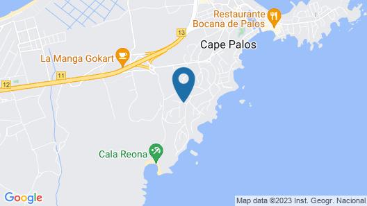3 Bedroom Accommodation in Cabo de Palos Map