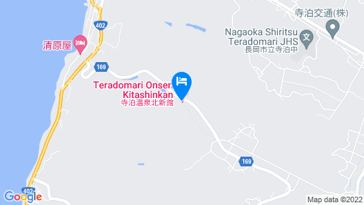 Teradomari Onsen Hokushikan Map