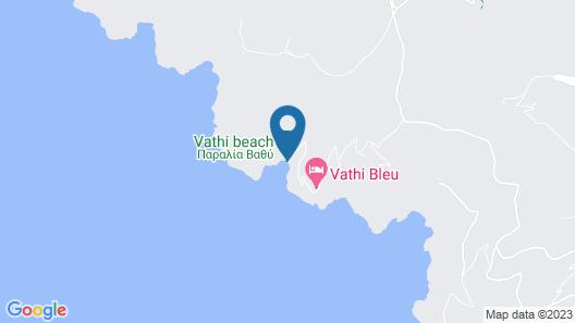 Vathi Bleu Private Villas Map