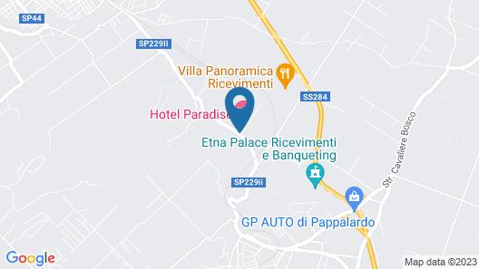 Hotel Ristorante Paradise Map