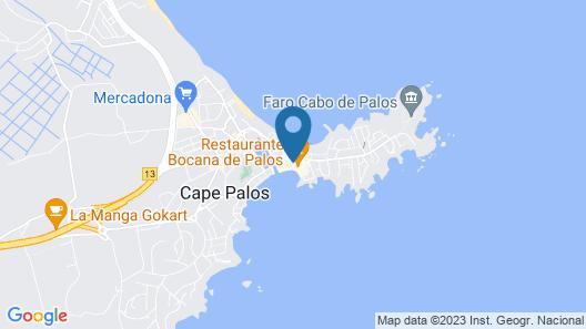 Apartamentos La Bocana Map