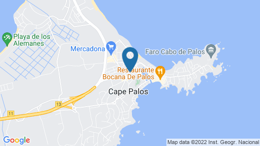 HOUSE IN THE CENTER OF CABO DE PALOS, CLOSE TO DIVING CLUBS Map
