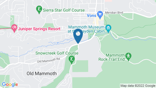 Snowcreek Resort Map
