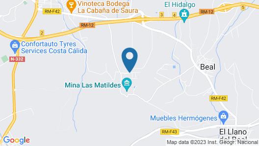 Spacious Villa With Private Swimming Pool in El Algar Map
