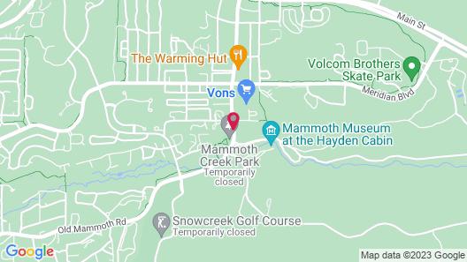 The Mammoth Creek Inn Map