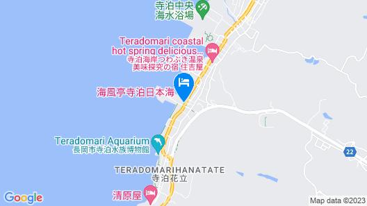 Kaifutei Teradomari Nihonkai Map
