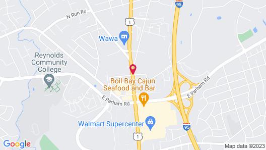 Best Western Plus Glen Allen Inn Map