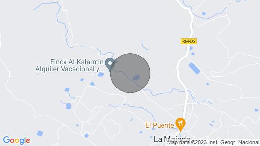 Gîte Paraje Las Rocas Pour 8 Personnes Map