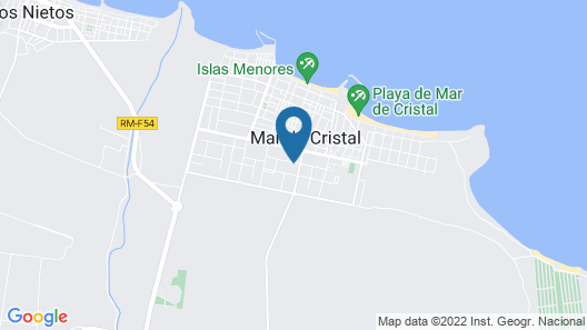 Close to Safe Beach in Mar de Cristal, in Gated Small Complex With Gardens Map