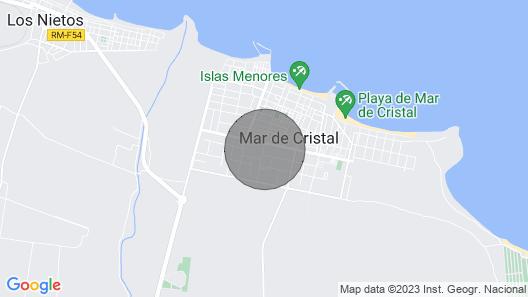 Mar De Cristal Home to Relax Map