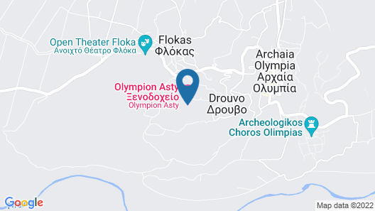 Olympion Asty Map