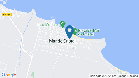 4 Bedroom Accommodation in Cartagena Map
