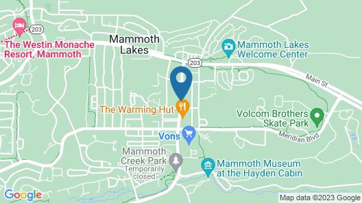 The Lodge at Sierra Nevada Resort & Spa Map