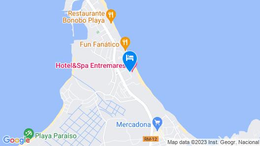 Entremares Biobalneario Marino Map
