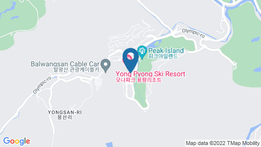 Yongpyong Resort Villa Condominium Map