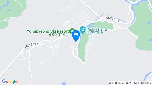 Yongpyong Resort Greenpia Condominium Map