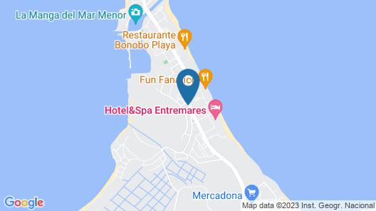 La Manga Beach Club - L Map