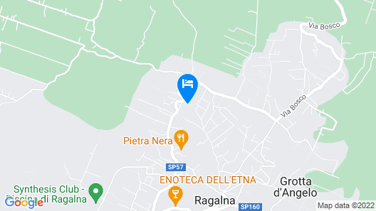 Etna Paradise Casa Vacanze Map