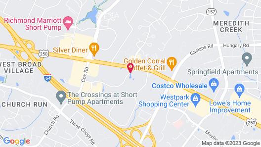 Residence Inn by Marriott Richmond Northwest Map