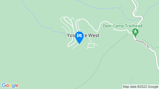 Inside Yosemite Sierra Blossom Map