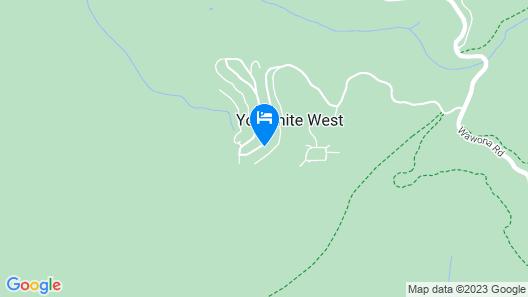 Inside Yosemite Lower Cascades Map