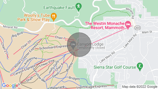 Snowbird 112-Walk to the slopes in 2 minutes! Map