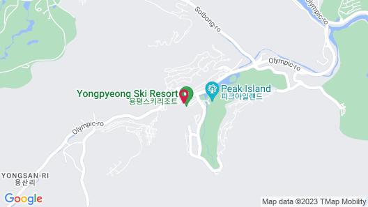 Yongpyong Resort Dragon Valley Hotel Map