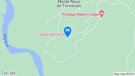 Casas da Cerca Map