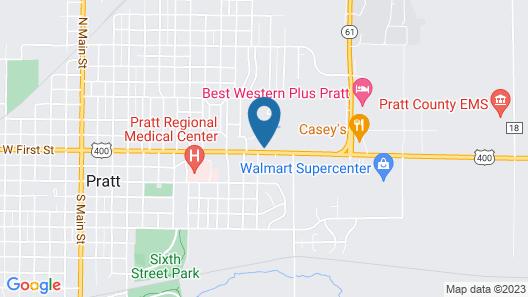 American Inn Motel Map