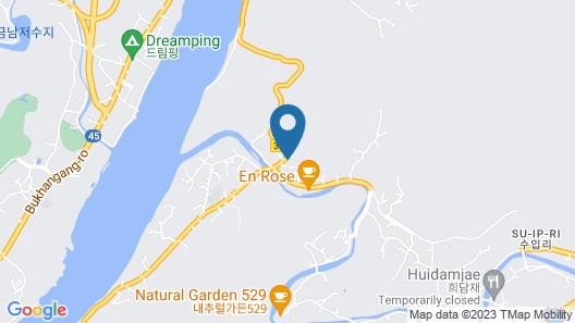 Yangpyeong Lx22 Pullvilla Unshared House Pension Map