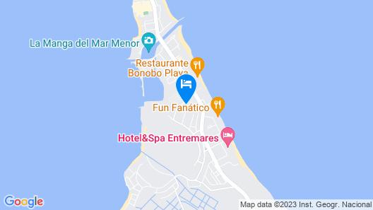 Hotel Las Gaviotas Map