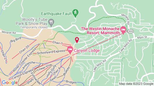Austria Hof Lodge Map