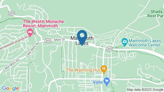 Cinnamon Bear Inn Map