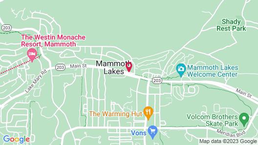 Empeiria High Sierra Hotel Map