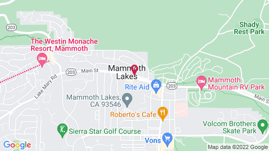 Grand Mammoth Resorts Map