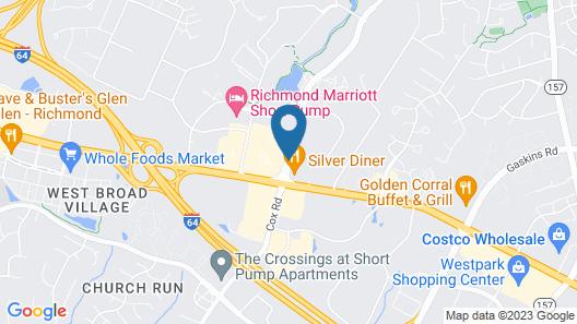 Hilton Garden Inn Richmond Innsbrook Map