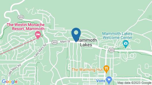 Quality Inn Mammoth Lakes Map