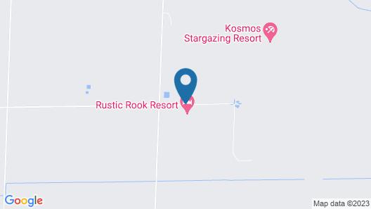 Rustic Rook Resort Great Sand Dunes Map