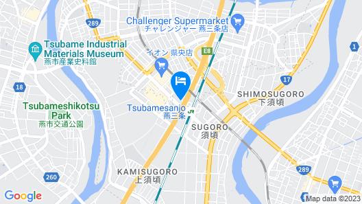APA Hotel Tsubamesanjo-Ekimae Map
