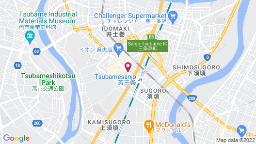 APA Villa Hotel Tsubamesanjo-Ekimae Map