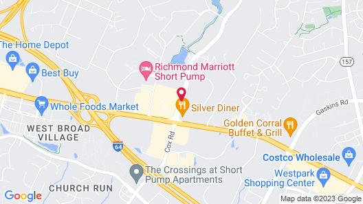 Hyatt Place Richmond/Innsbrook Map