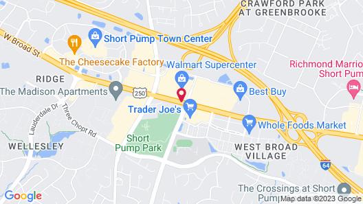 Aloft Richmond West Short Pump Map