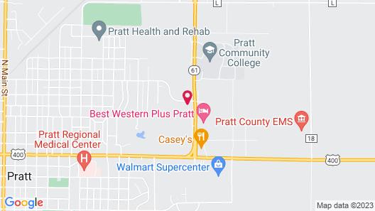 Pratt Inn & Suites Map
